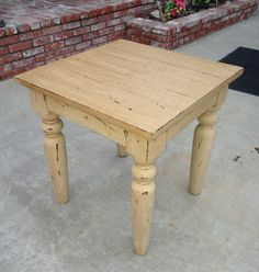 Shabby Chic End Table on Etsy, $75.00