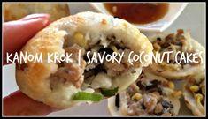 How to make KANOM KROK | Savory Coconut Cakes | House of X Tia | Lao Food