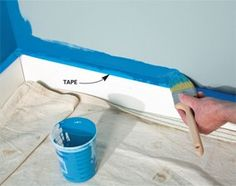 How to Paint a Room Fast   a veteran painting contractor shares his secrets for painting walls fast, yet producing first rate results.