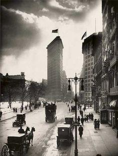 Flatiron Building - Manhattan, New York / Vereinigte Staaten von Amerika / United States of America / USA