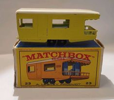 23 Trailer Caravan Matchbox, € 49,- (1100 Wien) - willhaben Caravan, Autos, Antique Toys, Vehicles, Motorhome