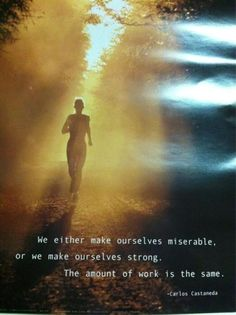 WE make ourselves!!!  https://www.facebook.com/#!/pages/Kiana-Hanna-Fitness-Living-the-Life-of-Insanity/265966823444890