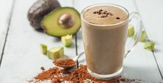 Chocolate Avocado Smoothie - Vegan Smoothies 1 serving Vega One Nutritional Shake Chocolate 1 Tbsp cocoa powder 2 tsp maple syrup ½ avocado 1 cup Ice cups non-dairy milk (coconut, almond, or hemp). Avocado Smoothie, Chocolate Avacado Smoothie, Smoothies Vegan, Best Smoothie Recipes, Protein Shake Recipes, Yummy Smoothies, Smoothie Drinks, Juice Smoothie, Yummy Drinks