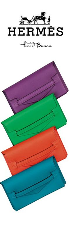 ~Hermès SS 2014 Lambskin Clutch Bag | House of Beccaria#