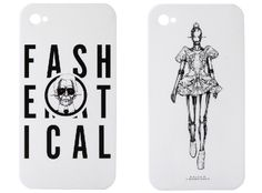 GASBOOK x Fashematical iPhone 4 Cases by Alexander McQueen