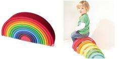 Arcoiris grande http://jaisaeducativos.net/encajables-y-apilables/231-arco-iris.html http://kinuma.com/es/juguetes-de-madera/160-arco-iris-tamano-grande-de-madera-4048565106702.html
