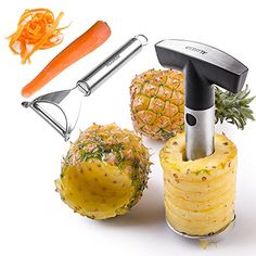 Garlic Press, Pineapple, Dining, Fruit, Vegetables, Stainless Steel, Amazon, Food, Amazons