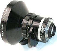Fisheye Nikkor 8mm f/2.8s lens