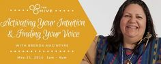Activating Your Intuition & Finding Your Voice with Brenda MacIntyre ‪#‎AYRFCIDurhamRegion‬ ‪#‎DurhamRegion‬ ‪#‎DurhamRegionEvents‬ ‪#‎DurhamRegionEvent‬ https://www.facebook.com/events/975683862545709/