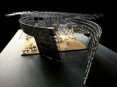 Hybrid Knowledge Communities #HKC #hybridknowledgecommunities #architecture #hybrid #parametricdesign #parametric #canopy #openknowledge #networkarchitecture #model