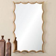 Uttermost Dareios Gold Mirror - 24W x 39H in. - 12892