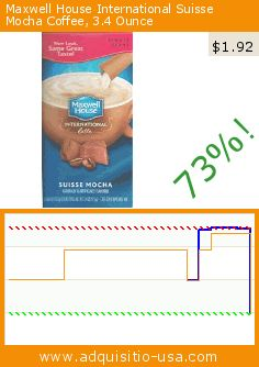 Maxwell House International Suisse Mocha Coffee, 3.4 Ounce (Grocery). Drop 73%! Current price $1.92, the previous price was $7.07. https://www.adquisitio-usa.com/maxwell-house/suisse-mocha-coffee-34