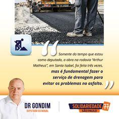 Me encontrei com o superintendente do DER, Clodoaldo Pelissioni, para discutirmos sobre as obras de recapeamento asfáltico e sistema de drenagem na rodovia. #FichaLimpa #77000 #DrGondim #votedrgondim77000