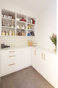 Butlers' pantries are very practical when it comes to hosting events or grabbing a quick snack and could be a great, valuable addition to your kitchen.