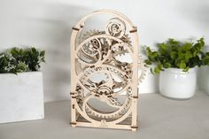 Ugears mechanical Model Timer wooden puzzle for adults Puzzles 3d, Wooden Puzzles, Wooden Gears, Wooden Clock, 20 Minute Timer, Art Model, Gifts For Boys, 3 D, Decorative Boxes