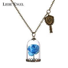 Find More Pendant Necklaces Information about LIEBE ENGEL Glass Bottle Paper Flowers Necklace & Pendant Choker Statement Necklace Fashion Vintage Long Sweater Chain Jewelry,High Quality sweater accessories,China sweater collar Suppliers, Cheap jewelry microphone from LIEBE ENGEL Official Store on Aliexpress.com