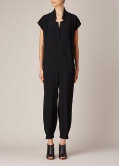 Zero + Maria Cornejo Lea Jumpsuit (Black)