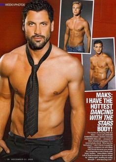 "William Levy isn't the only eye candy on this season's ""Dancing With the Stars."" Amiright, ladies? hot guys no shirts"
