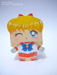 Sailor Venus Printable Paper Craft PDF