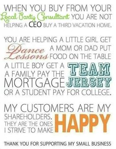 Today is small business Saturday. Please consider shopping small, it truly makes a difference!!