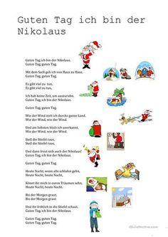 Guten Tag ich bin der Nikolaus – Rebel Without Applause Video Games For Kids, Kids Videos, Kindergarten Portfolio, Christmas Crafts, Xmas, German Language, Woodland Party, Special Education, Pin Collection