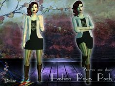 Sims 4 Set de poses Fashion