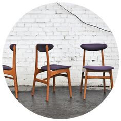 K jak krzesło, czyli Rajmund Hałas Retro Furniture, Home Furniture, Furniture Design, Mid Century Design, Vintage Love, Interior Inspiration, Interior Architecture, Dining Chairs, Art Deco