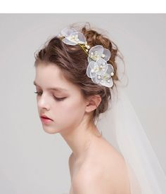 """""""Super beauty of the bride hair accessories"""" Synthetic Hair Extensions, Clip In Hair Extensions, Wedding Beauty, Wedding Makeup, Bride Hair Accessories, Wedding Hair Inspiration, Bridal Hair And Makeup, Bride Hairstyles, Long Hairstyles"""