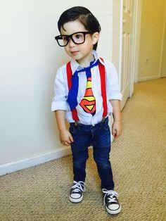 DIY Superman Costume for Toddler
