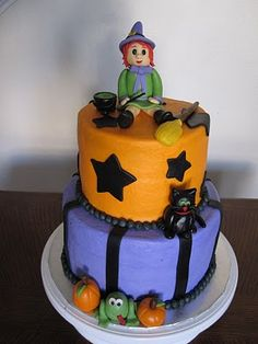 Ms. Cakes: Witch Cake