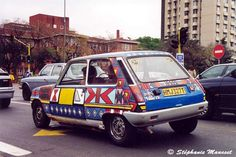 Africa - Earth Architecture car decorated with Ndebele paintings, Pretoria, South Africa. #africa