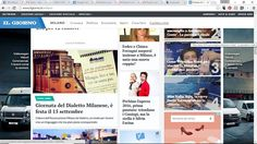 Che bello vedere la #giornatadeldialettomilanese in prima pagina su Il Giorno #milanodavedere Milano da Vedere
