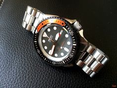 Image Seiko Skx, Seiko Watches, Casual Watches, Watches For Men, Affordable Watches, Casio Watch, Omega Watch, Accessories, Jewelry