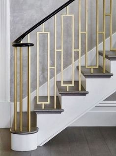 Stair Parts Only . Stair Parts Only . Check Out Our Photo Gallery Of Modern Stair Railing Ideas Staircase Design Modern, Staircase Railing Design, Interior Stair Railing, Modern Stair Railing, Wrought Iron Stair Railing, Balcony Railing Design, Home Stairs Design, Modern Stairs, Modern Design