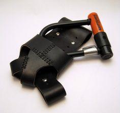 Leather U-Lock Holster