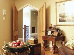 Intriguing Angled Doors | plan 024D-0062 | houseplansandmore.com #door #study #home