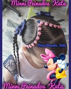 La imagen puede contener: una o varias personas Little Girl Braids, Girls Braids, Pinterest Design, Boy Hairstyles, Little Girl Hairstyles, Hair Dos For Kids, Long Hair Designs, Natural Hair Styles, Long Hair Styles