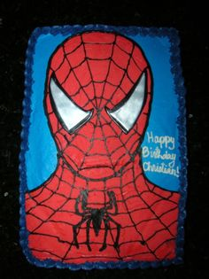 spiderman sheet cake - Google Search