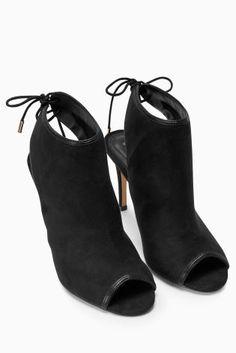 Buy Černé boty s otevřenou špičkou online today at Next: Czech Republic