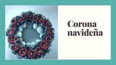 Como Hacer una Corona Navideña Crochet Earrings, Christmas, Holiday Wreaths, Christmas Decor, Christmas Crafts, How To Make, Xmas, Weihnachten, Yule