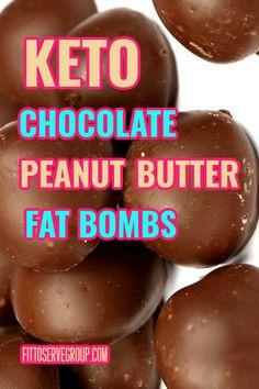 Low Carb Chocolate, Chocolate Peanut Butter, Chocolate Recipes, Keto Fat, Low Carb Keto, Keto Desserts, Keto Recipes, Sweet Fat Bombs, Caveman Keto