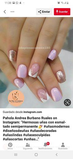 Nails, Beauty, Flower, Modern Nails, Sculpted Nails, Short Nails, Finger Nails, Ongles, Beauty Illustration