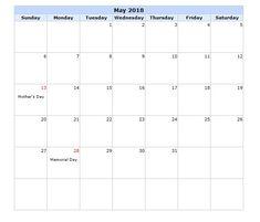 April Free Blank Calendar   Blank Calendars
