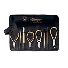 Morris Flamingo 9-PC. Pedicure Set Pedicure Kit, Manicure And Pedicure, Pedicures, Makeup Bar, Barber Supplies, Nail Supply, Great Christmas Gifts, Beauty Room, Mani Pedi