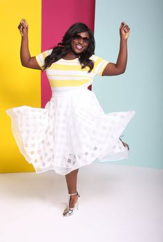 Guys, The Lane Bryant/Christian Siriano Collab Is REALLY Cute