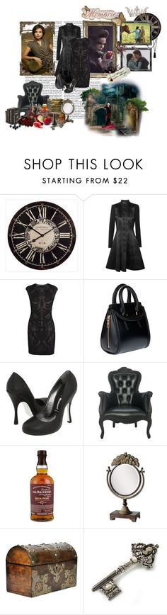 """OUAT- Regina Mills"" by damesansmerci ❤ liked on Polyvore featuring Ivanka Trump, Temperley London, Alexander McQueen, Vivienne Westwood, Mystique, Pieces and Avalaya"