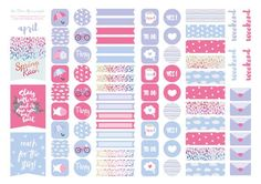FREE APRIL STICKERS FREEBIES 02 | the Dear You Project: