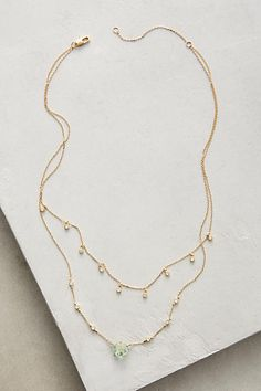 Shennin Layer Necklace - anthropologie.com