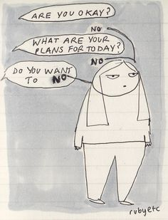 Are you ok? By rubyetc