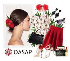 """Spanish mood"" by molnijax ❤ liked on Polyvore featuring мода, Dolce&Gabbana и AERIN"